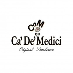 Lambrusco Reggiano rosso Dolce DOC Ca'De'Medici