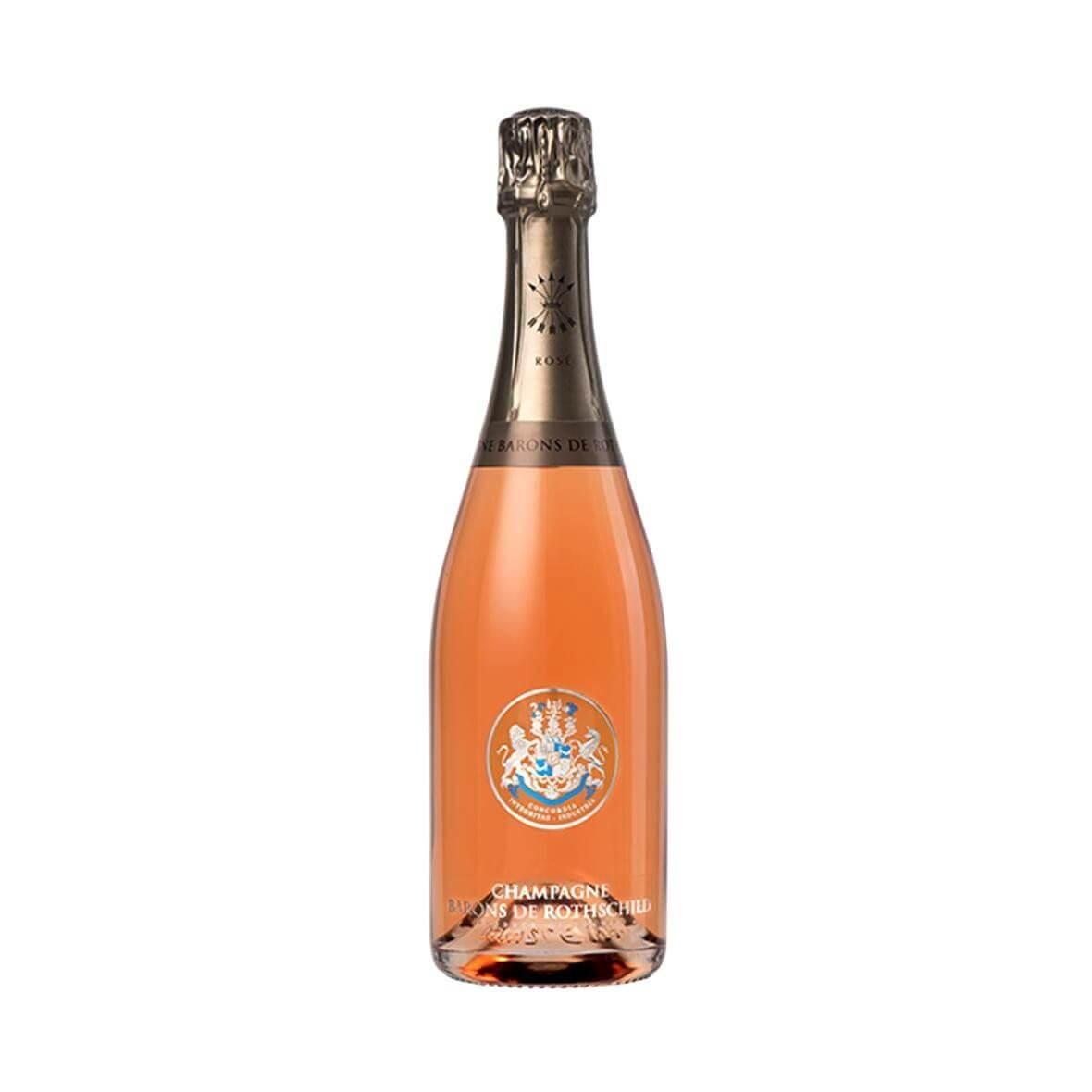 Champagne rosé Barons de Rothschild