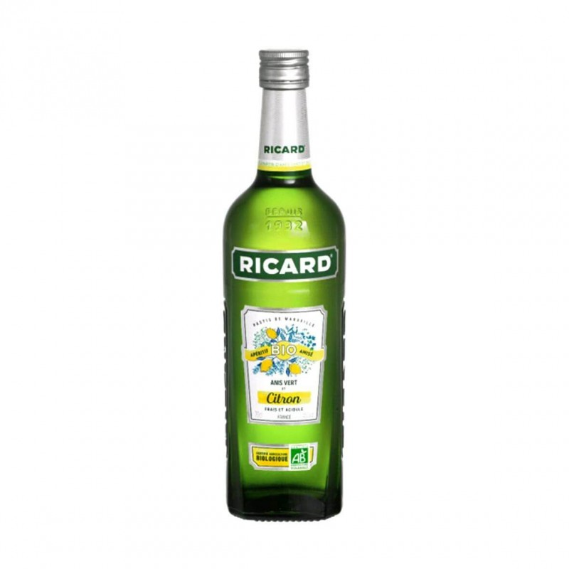 Ricard Bio Citron & Anis Vert