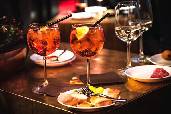 Cocktail italien à base de Prosecco - Enoteca Divino