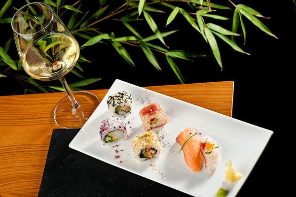 Accord vin sushis : vin blanc italien - Enoteca Divino